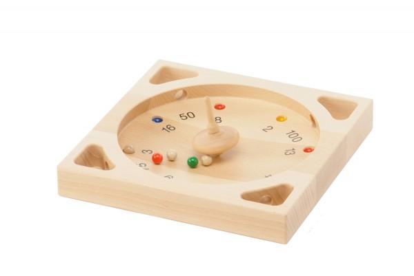 Kreiselspiel - Tiroler Roulette - Spannendes Spiel für Jung und Alt