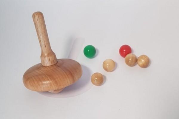 Ersatzkugeln und Kreisel Kreiselspiel Set