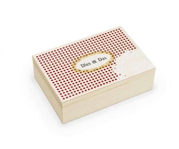 Dies & Das in der Holzbox