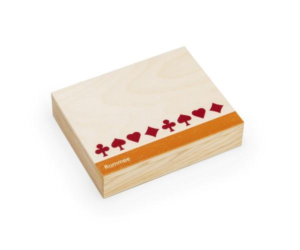 Kartenbox - Rommee