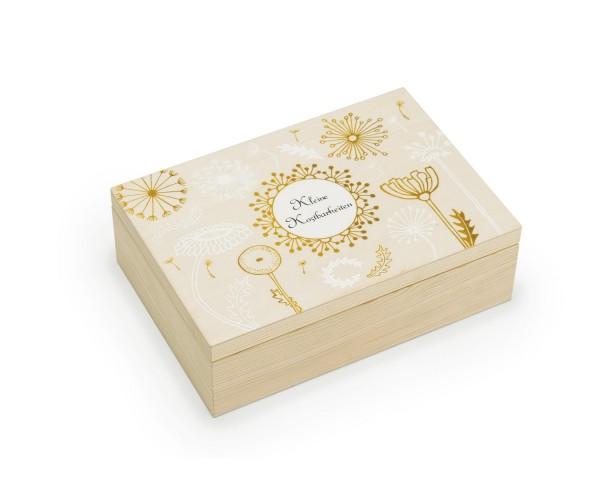 Kleine Kostbarkeiten in der Holzbox