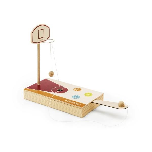 Tisch-Basketball Spiel - Holzbox