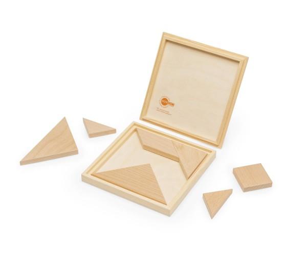 Tangram Holzbox Inhalt