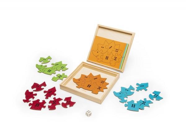 Igelspiel Puzzle- & Lernspiel für Kinder - Inhalt