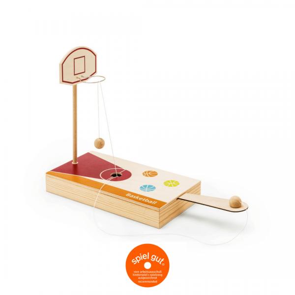 Tisch Basketballspiel mit Holzkassette