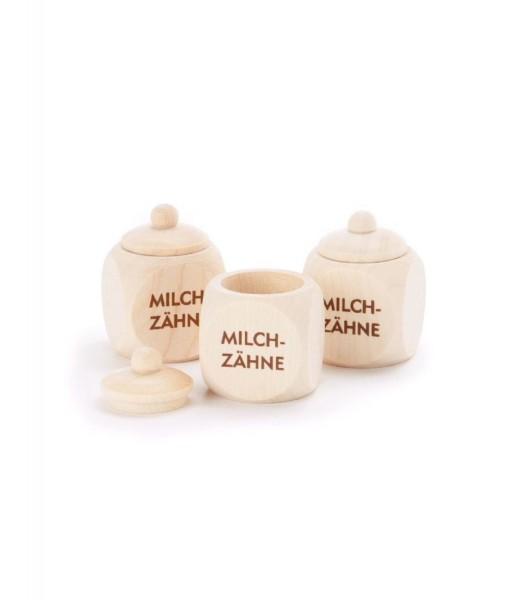 Milchzahndose aus Holz - Sichere Aufbewahrung